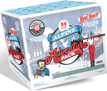 Alpine Adventure Pack Red Racer Parallel 49 12 x 355/c 12 x 341/b 24 x 348 ml