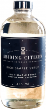 ABIDING CITIZEN RICH SIMPLE SYRUP
