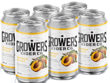 GROWERS SUMMER PEACH CIDER 6 x 355 ml