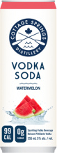 Cottage Springs Vodka Soda - Watermelon 355 ml