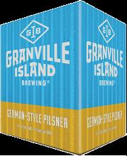 Granville Island Brewery German Style Pilsner 4 x 473 ml