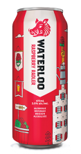 BRICK BREWING WATERLOO RASPBERRY RADLER 473 ml