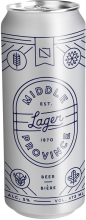 Fort Garry Brewing Company LP - Middle Province Lager Beer 473 ml
