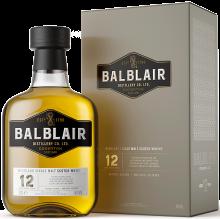 BALBLAIR 12 YO SINGLE MALT SCOTCH WHISKEY 750 ml