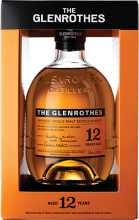 THE GLENROTHES 12 YO SINGLE MALT SCOTCH WHISKY 750 ml