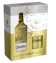 El Jimador Reposado TEQUILA with Rocks Glass Gift Pack 750 ml