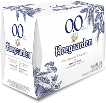 HOEGAARDEN NON-ALCOHOLIC WHEAT BEER 6 x 330 ml