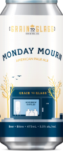 Grain To Glass Brewing Monday Mourn American Pale Ale 473 ml