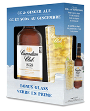 Canadian Club Premium Gift Pack 750 ml