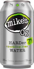 MIKE'S HARD SPARKLING LIME WATER 6 x 355 ml