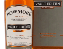 Bowmore Vault Edition Second Release Islay Single Malt Scotch Whisky 700 ml