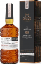 Alberta Premium Cask Strength Limited Edition Canadian Rye Whiskey 750 ml