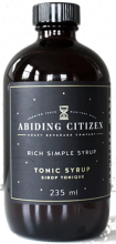 ABIDING CITIZEN TONIC SYRUP