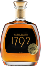 1792 Single Barrel Personal Barrel #3789 Bourbon Whiskey 750 ml