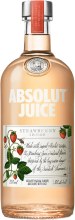 ABSOLUT JUICE STRAWBERRI EDITION VODKA 750 ml