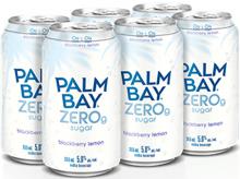 Palm Bay Zero g Sugar Blackberry Lemon 6 x 355 ml