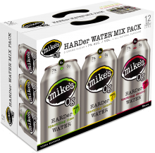 Mike's - Hard Water Mixer Pack 12 x 355 ml