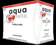 Aquarelle Vodka Soda Pomegranate 6 x 355 ml