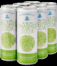GEORGIAN BAY - LIME SMASHED SODA 6 x 355 ml