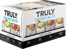 TRULY - TROPICAL HARD SELTZER MIX PACK 12 x 355 ml