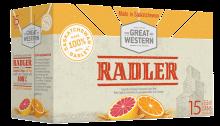 GREAT WESTERN RADLER 15 x 355 ml