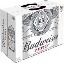 BUDWEISER ZERO 12 x 355 ml