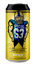 TORQUE BREWING - SPECIAL 63 AMBER LAGER 473 ml