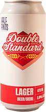 HALF PINTS BREWING - DOUBLE STANDARD LAGER 473 ml