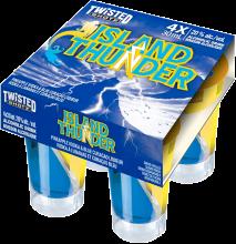TWISTED SHOTZ ISLAND THUNDER 4 x 30 ml