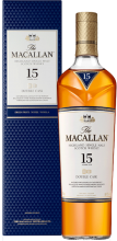 THE MACALLAN 15 YEAR DOUBLE CASK SINGLE MALT SCOTCH WHISKY 750 ml