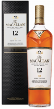 The Macallan 12 YO Sherry Oak Cask Single Malt Scotch Whisky 750 ml