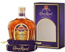 CROWN ROYAL DELUXE BAG IN BOX 750 ml