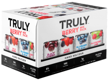 TRULY - BERRY HARD SELTZER MIX PACK 12 x 355 ml