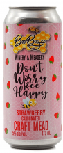 BEE BOYZZ - DON'T WORRY BEE HAPPY STRAWBERRY CARBONATED CRAFT MEAD 473 ml