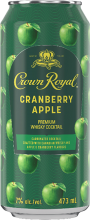 CROWN ROYAL CRANBERRY APPLE WHISKY COCKTAIL 473 ml