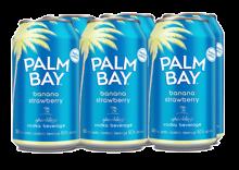 PALM BAY - SPARKLING BANANA STRAWBERRY 6 x 355 ml