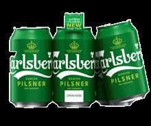 Carlsberg Pilsner Snap Pack 6 x 330 ml