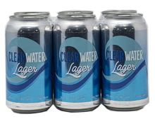 624 BEVCO - CLEARWATER LAGER 6 x 355 ml