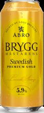 Brygg Mastarens Swedish Premium Gold Lager 500 ml