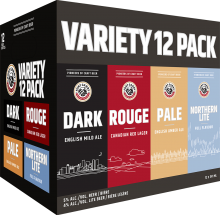 Fort Garry Variety Pack 12 x 341 ml