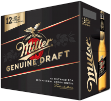 Miller Genuine Draft 12 x 355 ml