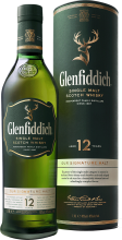 Glenfiddich 12 Year Single Malt Scotch Whisky 1.14 Litre