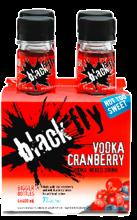 Black Fly Vodka Cranberry 4 x 400 ml