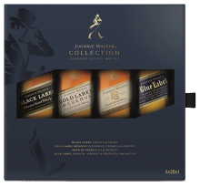 Johnnie Walker Family Collection Pack 4 x 200 ml