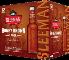 Sleeman Honey Brown Lager 12 x 341 ml