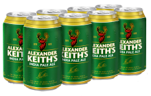 ALEXANDER KEITH'S IPA 8 x 355 ml
