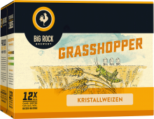 Big Rock Grasshopper Kristallweizen 12 x 355 ml