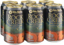 Big Rock Rock Creek Dry Cider 6 x 355 ml