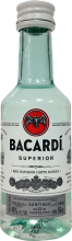 Bacardi Superior White Rum 50 ml