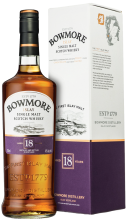 Bowmore 18 Year Islay Single Malt Scotch Whisky 750 ml